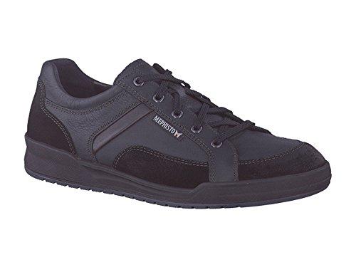 Mephisto Rodrigo Herren Sneaker - Der robuste Sneaker für Freizeit und Beruf! Schwarz