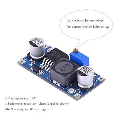 DaoRier-LM2596-LM2596S-DC-DC-Converter-30-40V-bis-15-35V-Verstellbarer-Stromversorgung-Step-Down-Modul-fr-Arduino-1-Stck