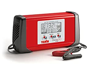 Telwin Doctor Charge–Chargeur de Batterie, Doctor Charge 50 600 wattsW, 230 voltsV