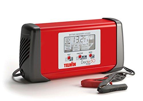 Caricabatterie Multifunzione Doctor Charge 50 Telwin Carica Batterie Auto Moto Barch