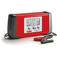 Telwin Doctor Charge 50 Cargador de Bateria, Rojo y Negro