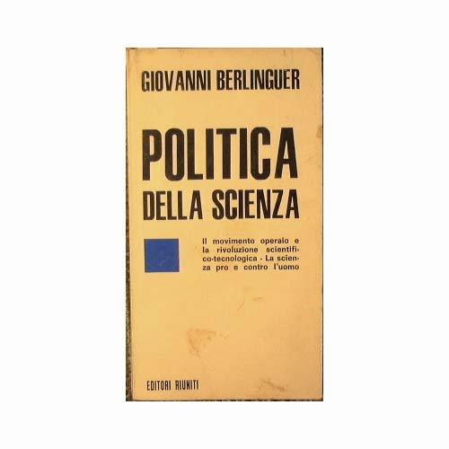 Politica della scienza