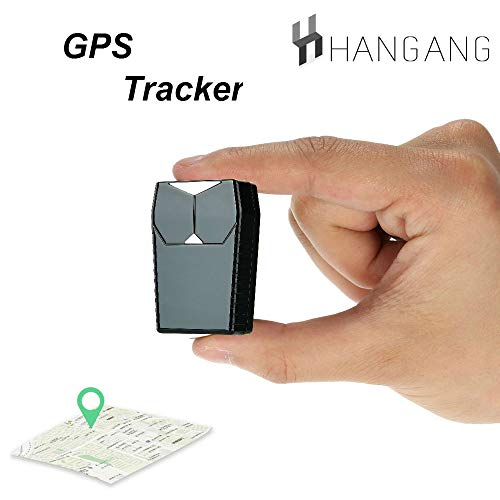 Hangang GPS-Tracker, Mini-Tracker GPS-Locator Wasserdicht, Auto Einbrecher, Auto-Positionierung Kind/ältere Anti-verlorene Tracker