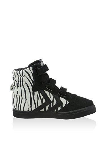Hummel Stadil High Zebra Baskets Chaussures d'hiver enfants noir
