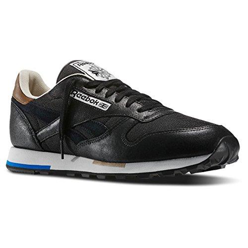 Reebok - Classic Leather Casual, Sneakers da uomo nero