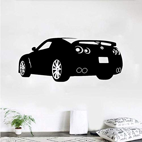 Race Sports Car Wandtattoo Dekor Aufkleber Art Vinyl Wand Nissan Automotive Decals Auto Decals 41x98cm