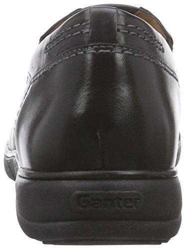 Ganter Hermes, Weite H, Chaussons Homme Noir - Noir (0100)