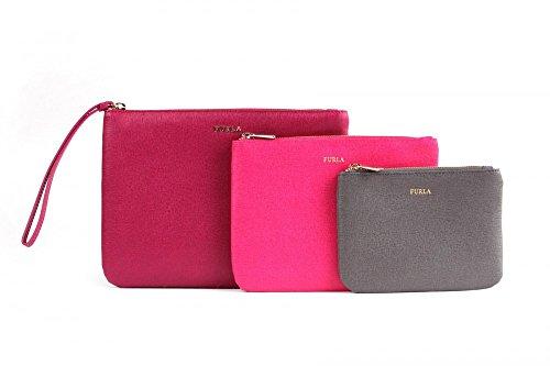 Furla 776191 Royal Envelope Handtaschen Set - Mehrfarbig - aus hochwertigem Saffianleder