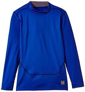 Nike Jungen Shirt Core Compression Mock Plus, Game Royal/Flint Grey, M, 522803