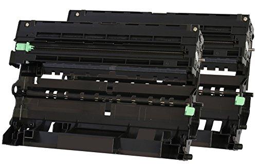 TONER EXPERTE® 2X DR3300 Trommel kompatibel für Brother HL-5440D HL-5450D HL-5450DN HL-5470DW HL-5480DW HL-6180DW HL-6180DWT MFC-8510DN MFC-8520DN MFC-8950DW MFC-8950DWT DCP-8110DN (30.000 Seiten)