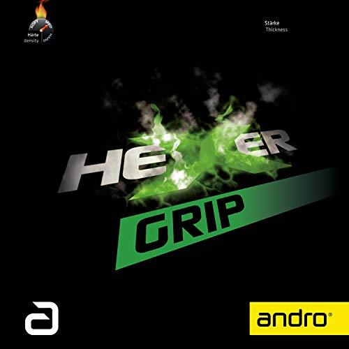 ANDRO Belag Hexer Grip, schwarz, 1,7 mm