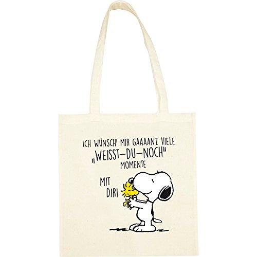 Peanuts Snoopy Collection - Stoffbeutel Weisst-Du-noch-Momente, 38 x 41 cm