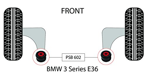 PSB polyuréthane Bush Série 3 E36 (91 99) inférieur avant bras de 60 mm bushing kit - Psb602