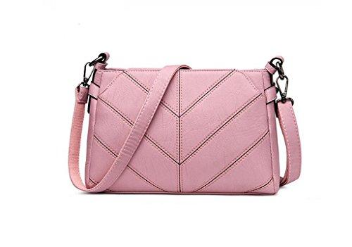 Borse, borse, spalla di modo, sacchetto del messaggero, una piccola barbona Pink