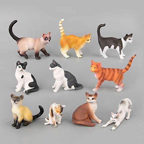 YeahiBaby Figurines Figurines Figurines Chat Jouets | Miniatures animales en Plastique réalistes, Lot DE 10 | Les Produits Sont Vendus Sans Prescription Mode Et Forfaits Attractifs  eff5e5