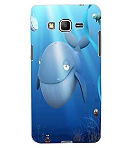 ColourCraft Dolphins Design Back Case Cover for SAMSUNG GALAXY GRAND PRIME G530H