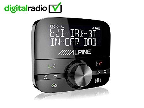 EZi-DAB-BT - Kfz Digitalradioadapter und Kontroller für Musik auf Mobilgeräten Alpine Interface
