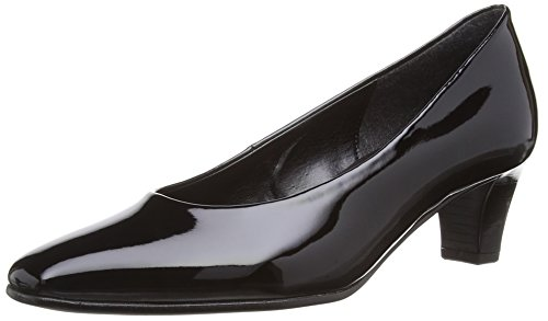 Gabor  Competition P, Damen Pumps Black (Black Patent)