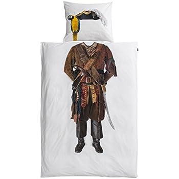 Snurk Bettwäsche Pirat 135 x 200 cm 100% Baumwolle