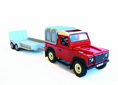 Big Farm - Conjunto Land Rover y remolque para uso general (TOMY 42836) de Britains