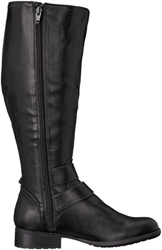 Life Stride X-Must Wide Calf Synthétique Botte Blk CwGrl