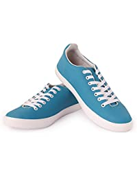 Mykon Blue Lace-up Casual Shoes For Mens - B07D23KWSW