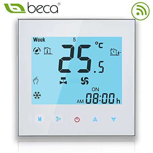WIFI Thermostat Central BECA Four Pipe Heizung / Kühlung Wireless Control Programmierbare HVAC Raum Thermostat