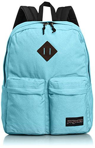 "JanSport Hoffman Backpack - Bayside Blue - 16.7""H x 13""W x 7""D"