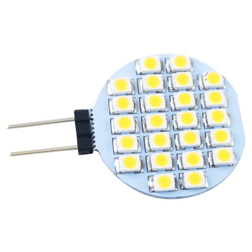 THG Vier St¨¹cke G4 3528 Base- Side Pin 24 SMD LED DC 12V Mais- Home Marine -Auto-Boots -Gl¨¹hlampe (Boot-plug-licht)