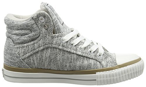 British Knights DEE Damen High-Top Grau (LT Grey 06)