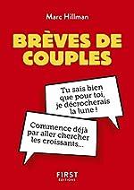 Petit Livre de - Brèves de couples de Marc Hillman