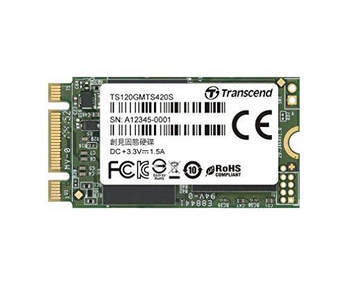 Transcend 120GB SATA III 6Gb/s MTS420S 42mm M 2 SSD420S Solid State Drive