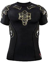 54bf28ef82b27 G-Form Pro-X Niños Compression Camiseta de Manga Corta - Negro Armarillo