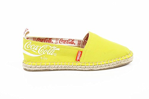 espadrilles donna Coca Cola ladies espadrillas cc06102 juta classic yellow -- 41 eur - 11 us