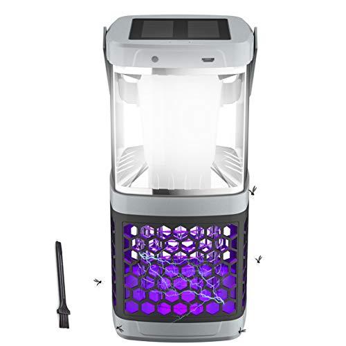 Extsud Lanterne Camping LED Lampe UV Anti Moustique 2...