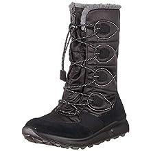 Superfit Girls' Merida Snow Boots, Black (Schwarz 00), 3.5 UK