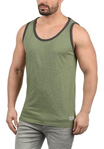 Redefined Rebel Marlow Herren Tank Top Mit Rundhalsausschnitt, Größe:L, Farbe:Oil Green