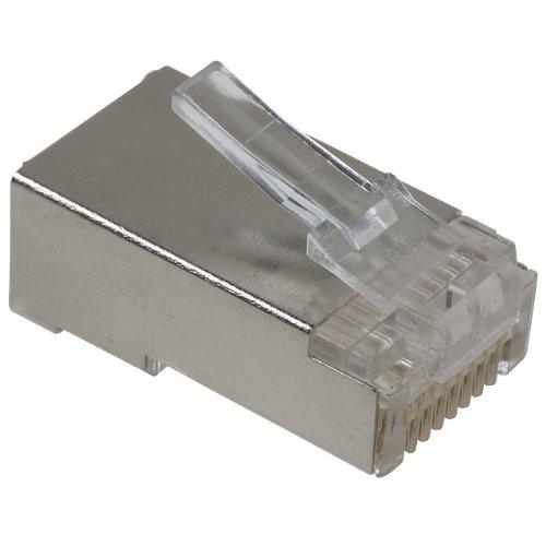 ASSMANN Modularstecker geschirmt 8P8C RJ45 Cat5e Fuer Rundkabel Bulk (Rj45-stecker Bulk)