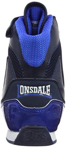 Lonsdale - Scarpe a collo alto, Uomo Blu (Navy/Blue)
