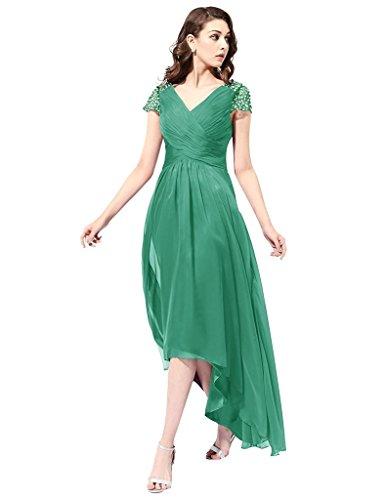 JYDress - Robe - Plissée - Femme green