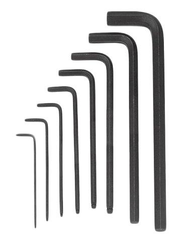 Park Tool Winkelschlüsselset HXS-1.2  1,5-10, 4001208 - Balldriver-hex-tool
