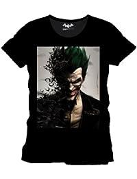Batman Arkham Origins Männer T-Shirt schwarz. Offiziell lizenziert