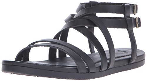 Teva Avalina Crossover Leather W's Damen Sport- & Outdoor Sandalen, Schwarz (black 513), EU 41
