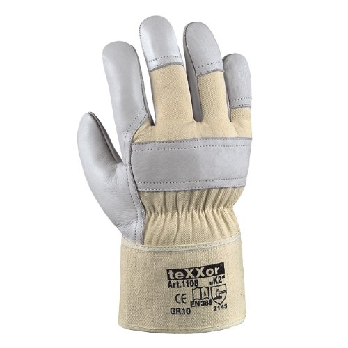 "Texxor Rindvollleder-Handschuh Top \""K2\"", Größe 11"