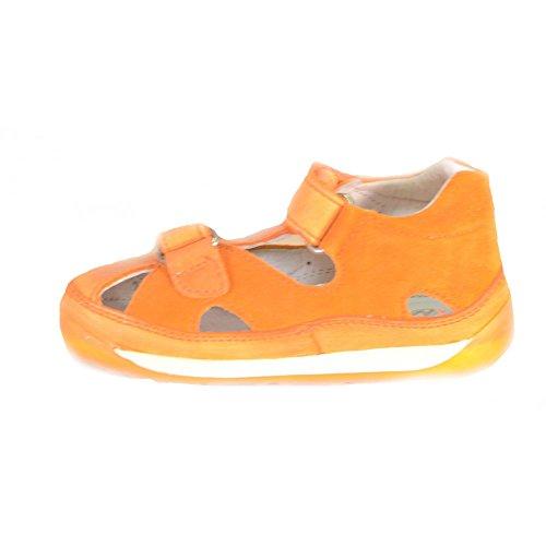 Falcotto - Naturino Falcotto Sandales Pour Petit Fille Velcro Cuir orange 1171 Orange