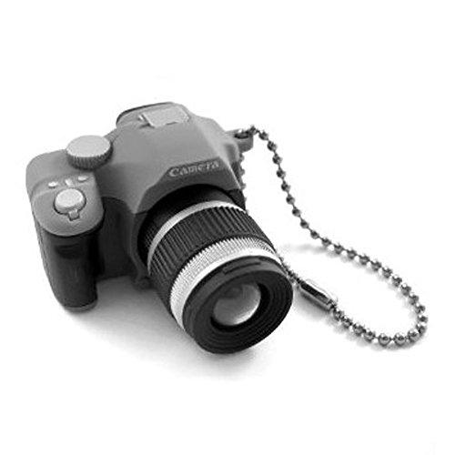 Preisvergleich Produktbild niceeshop(TM) Mini Digital Spiegelreflexkamera Stil LED Blitzlicht Verschluss Klang Schlüsselring(Zufällige Farbe)