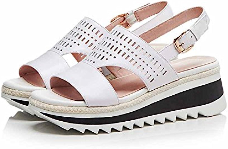 HIGHXE Mujeres Zapatos de tacón Alto Zapatos de Pescado Boca Impermeable Estilete Zapatos de la Bomba Plataforma... -