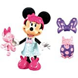 Minnie Mouse - Muñeca Sleepover Bow-Tique (Mattel X5168)