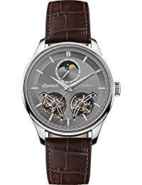 e30bb69f7 Ingersoll The Chord Mens Automatic Watch I07201 with a Grey Dial and a  Brown Genuine Leather