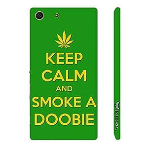 Sony Xperia M5 SMOKE A DOOBIE designer mobile hard shell case by Enthopia